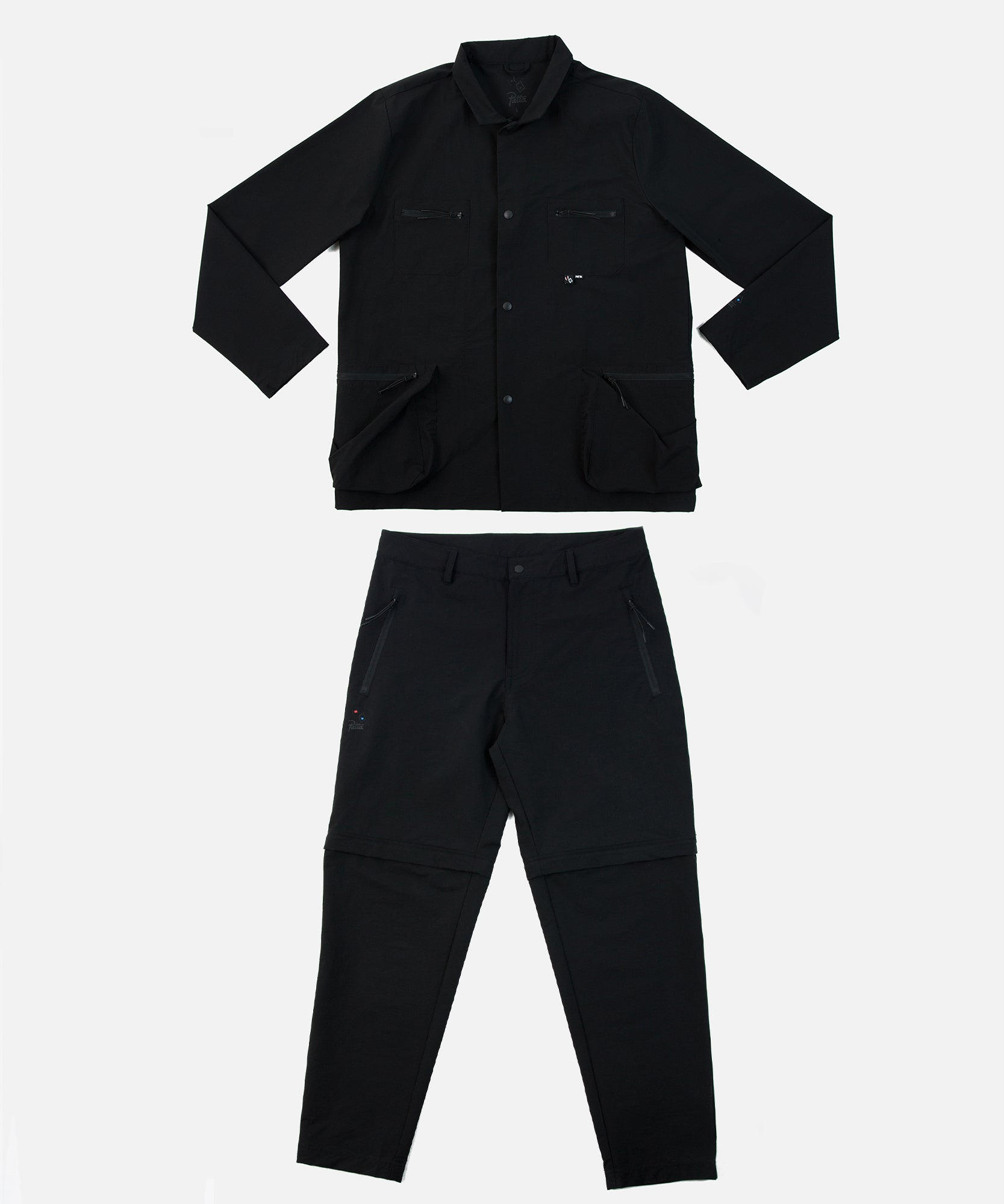 Bonne Suits x Patta Technical Two-Piece Suit (Black)