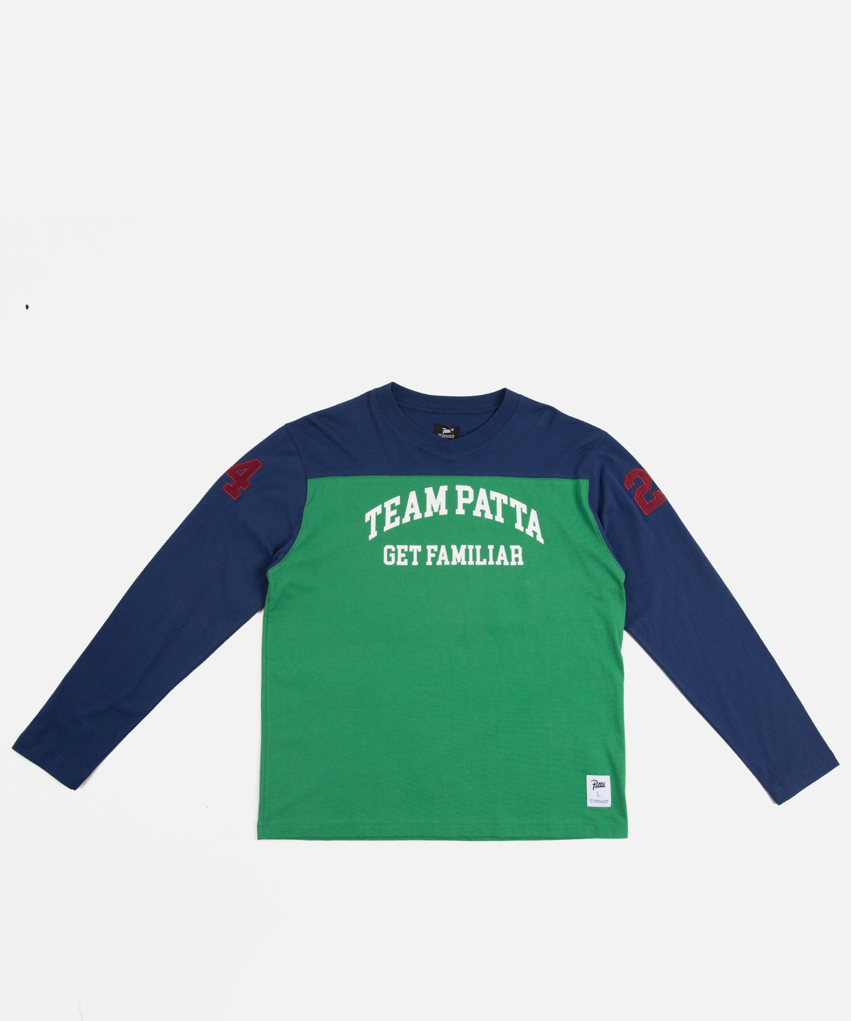 Patta Get Familiar Hockey Jersey (Green/Blueprint)