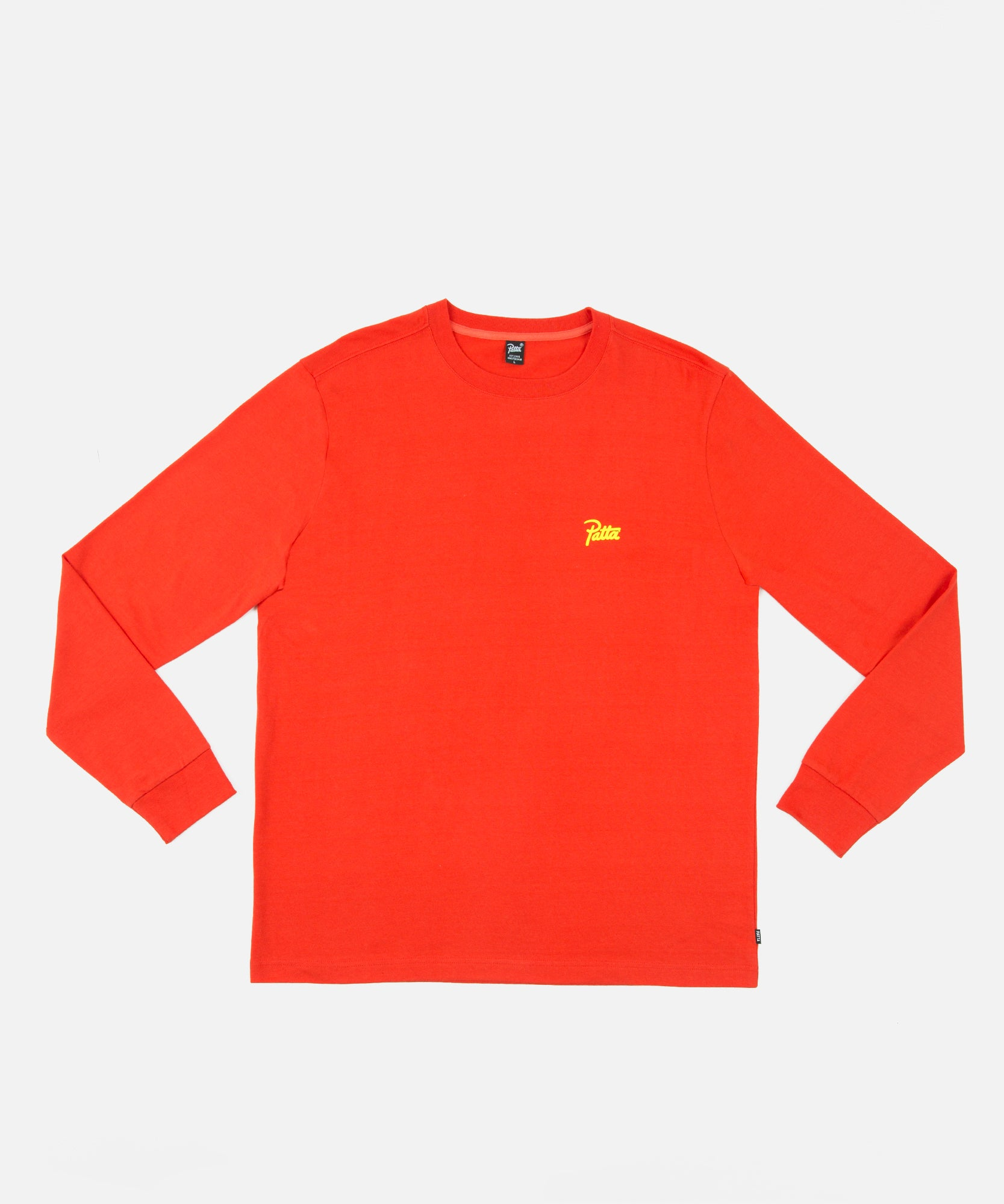 Patta Ratio Longsleeve (Fiery Red)