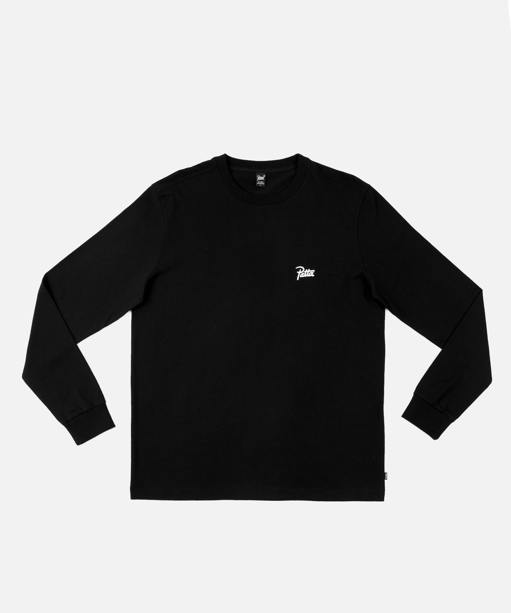 Patta Ratio Longsleeve (Black)