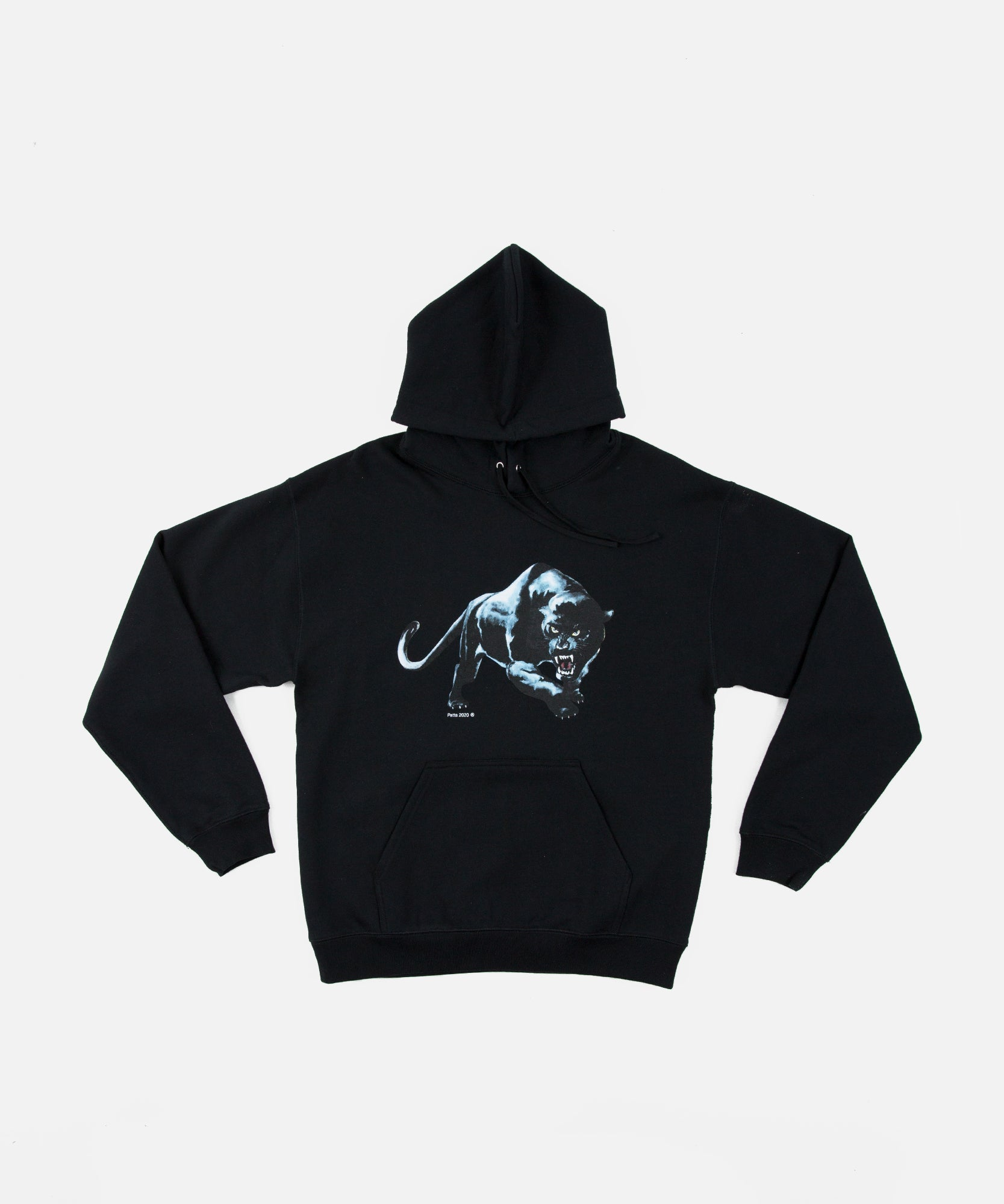 Patta Panther Hooded Sweater (Black)