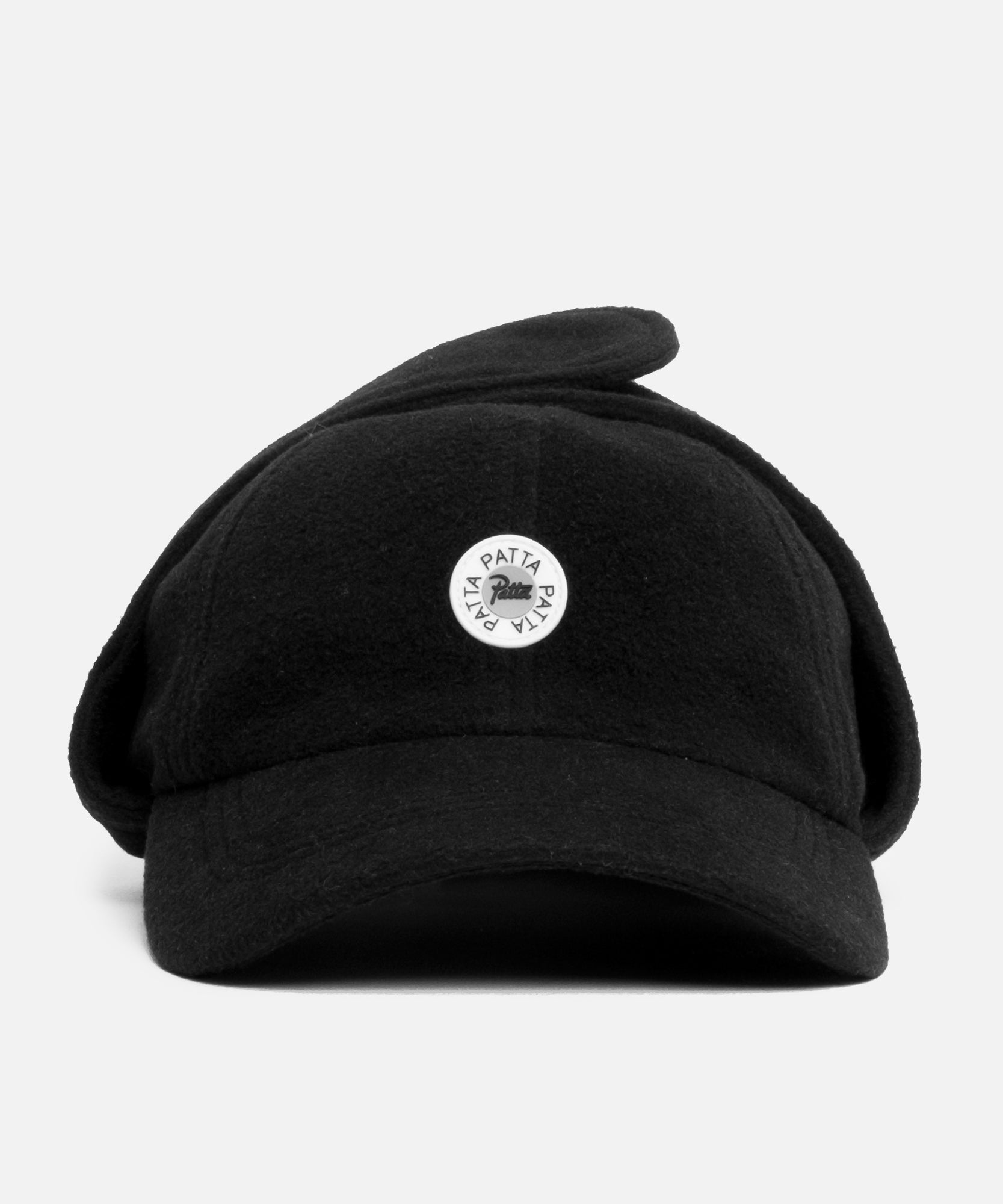 Patta Polartec Sports Flap Cap (Black)