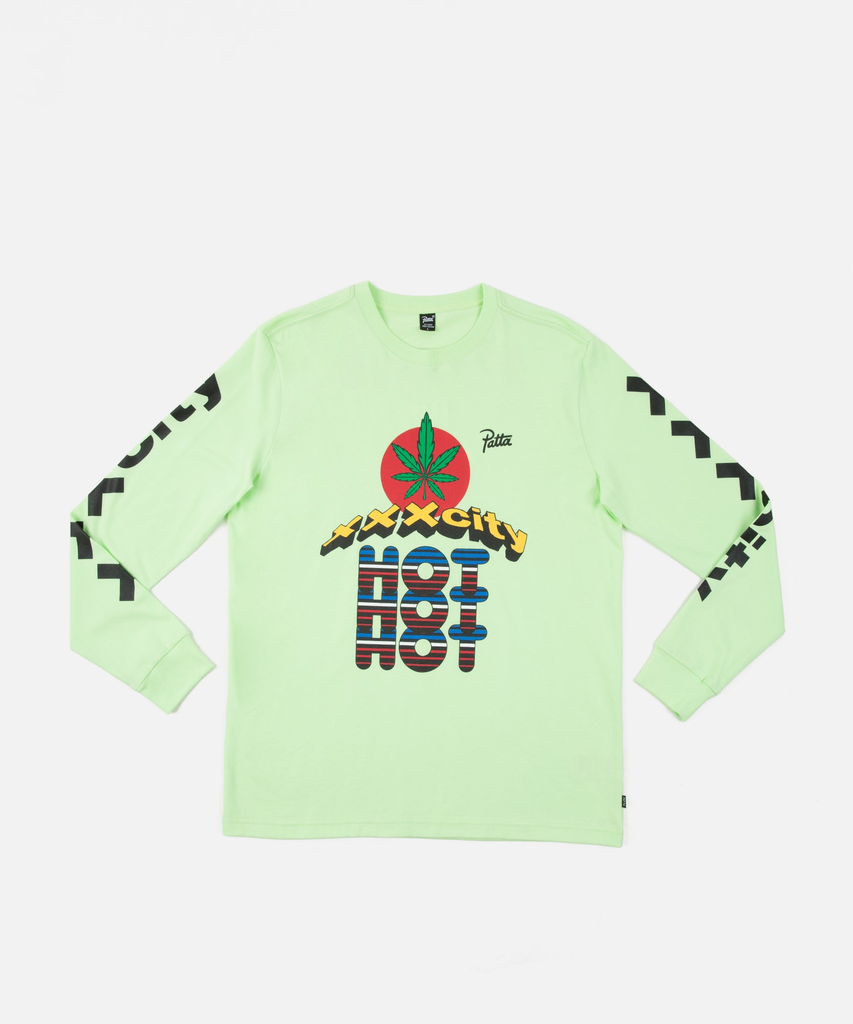 Patta Sin City Longsleeve (Paradise Green)