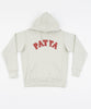 Patta Biker Logo Hooded Sweater (Pelican)