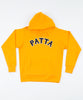 Patta Biker Logo Hooded Sweater (Zinnia)