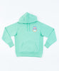 Patta x DOE Double Happiness Hooded Sweater (Spearmint)