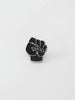 Patta Fist Logo Pin (Silver/Black)