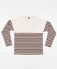 Patta Striped Heavy Longsleeve (Shaved Chocolate)