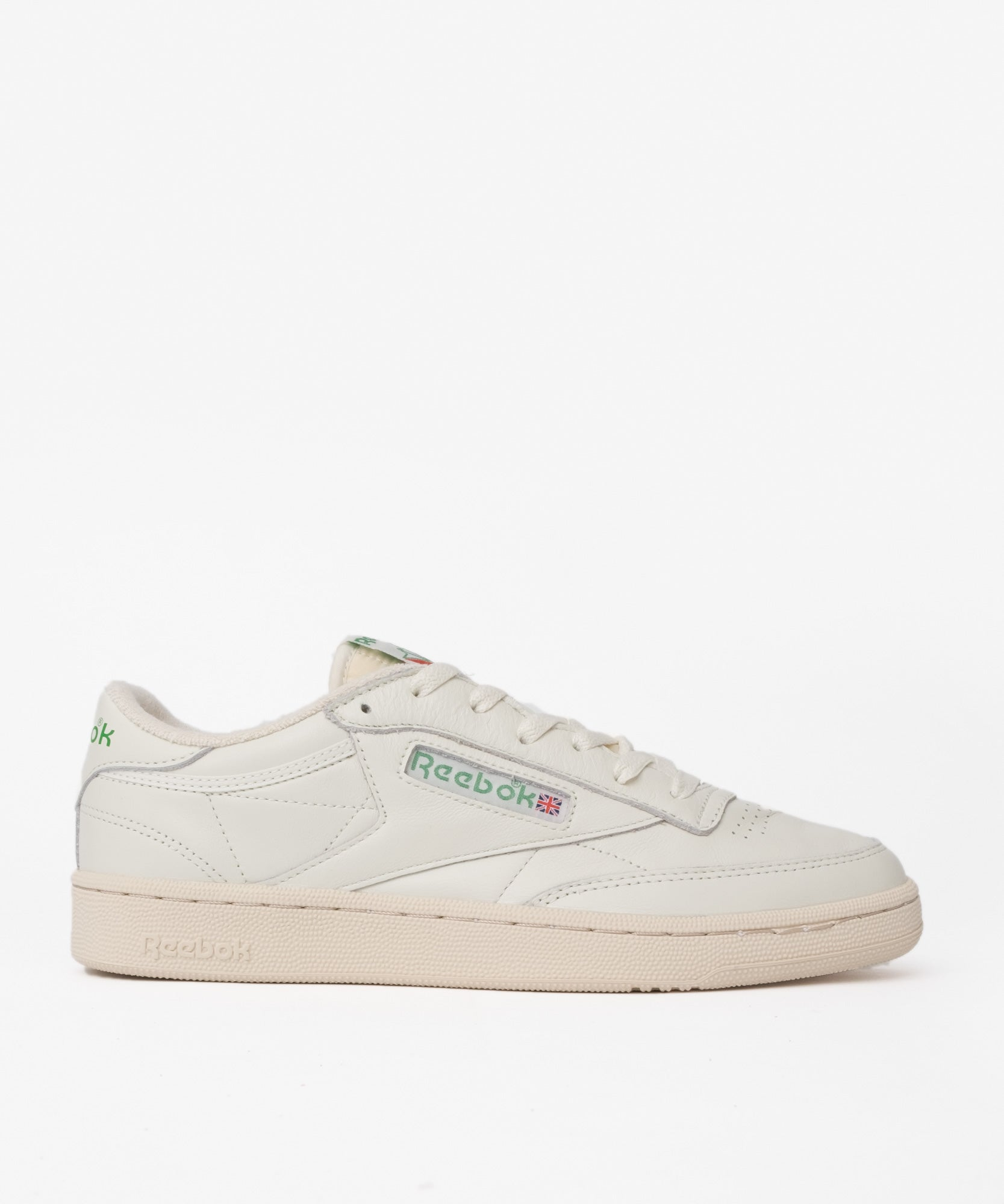 Reebok Club C 1985 TV (Chalk/Paperwhite/Green)