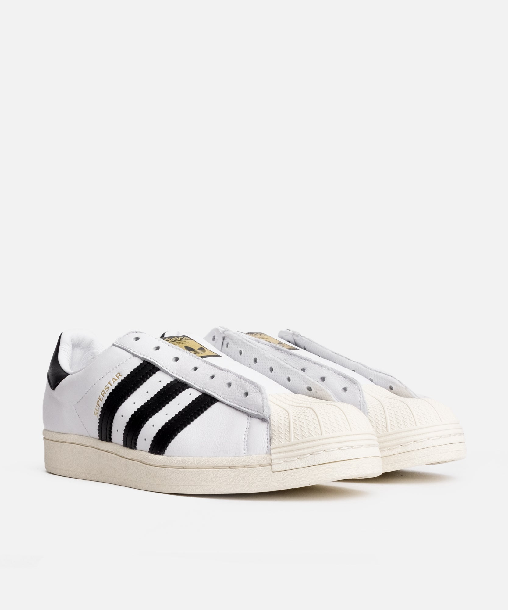 adidas Superstar Laceless WhiteCore Black