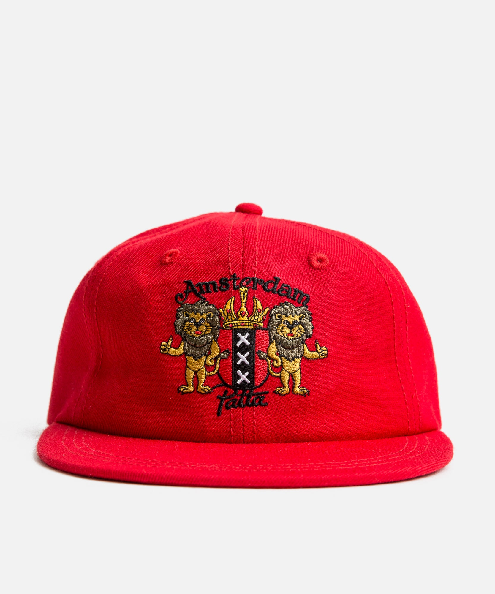 Patta Wool Twill Souvenir Cap (High Risk Red)
