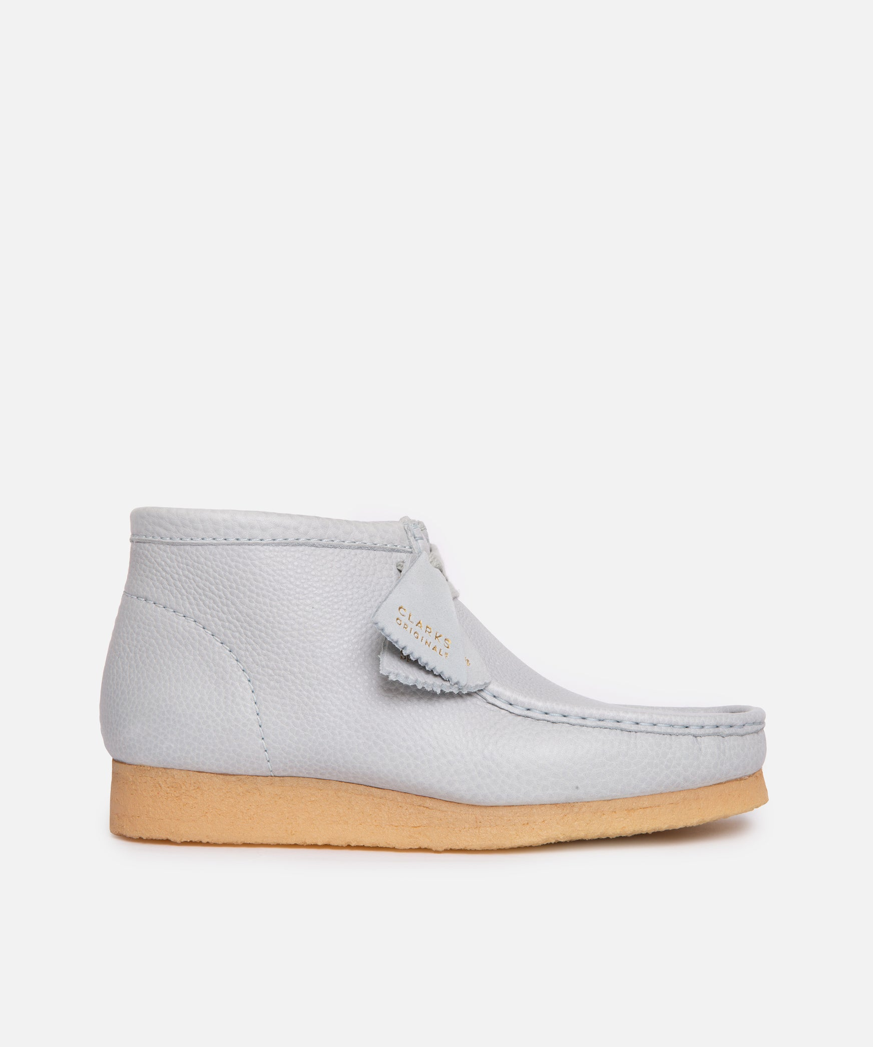 WMNS Clarks x Sporty & Rich Wallabee Boot (Light Blue Leather)