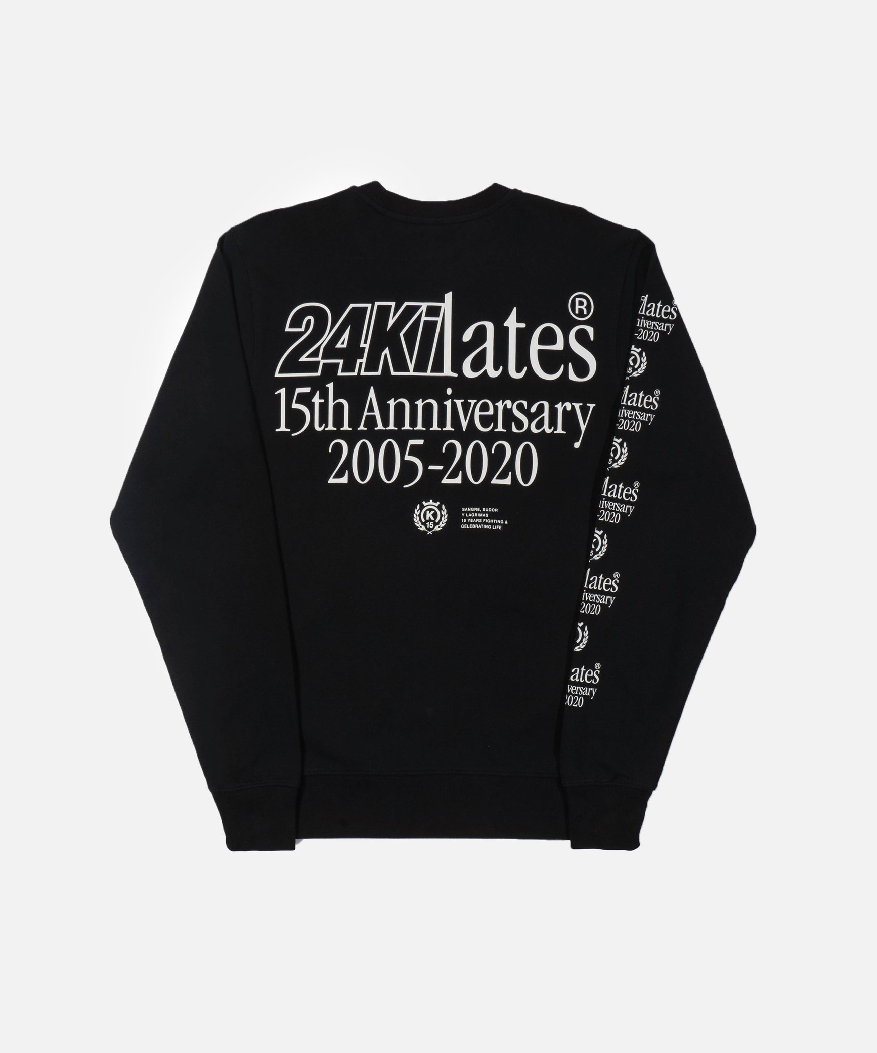 24 Kilates Anniversary Crewneck Sweater (Black)