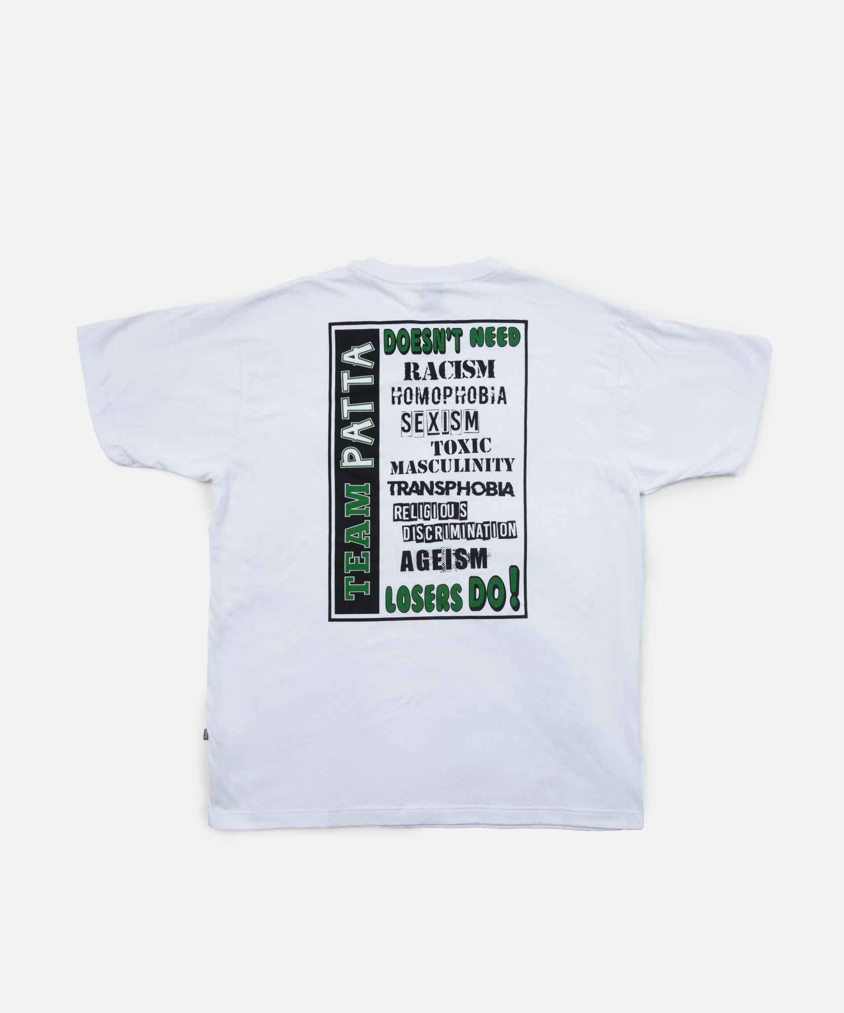 Patta Anti T-Shirt (White)