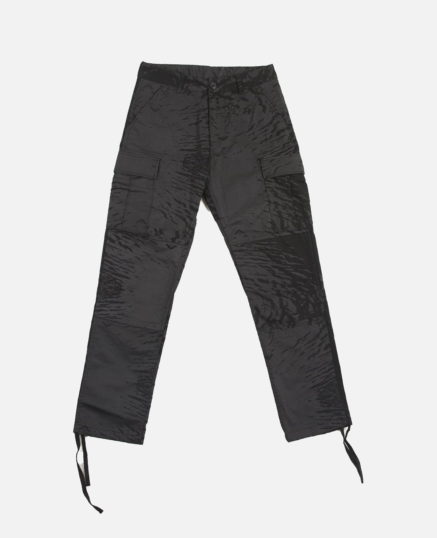 Patta Water Camo Cargo Pants (Black/Black)