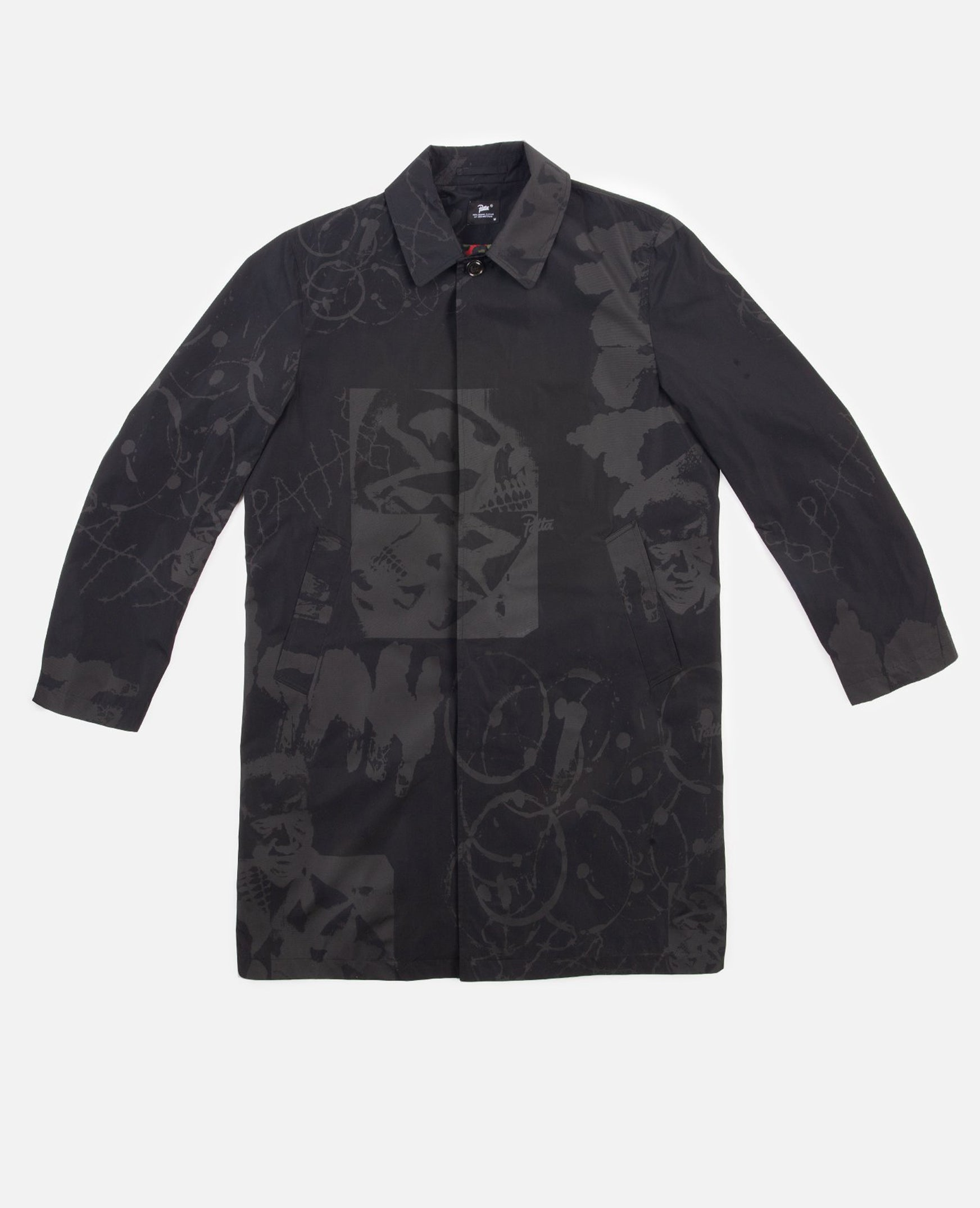 Patta Xerox Mac Coat (Black)