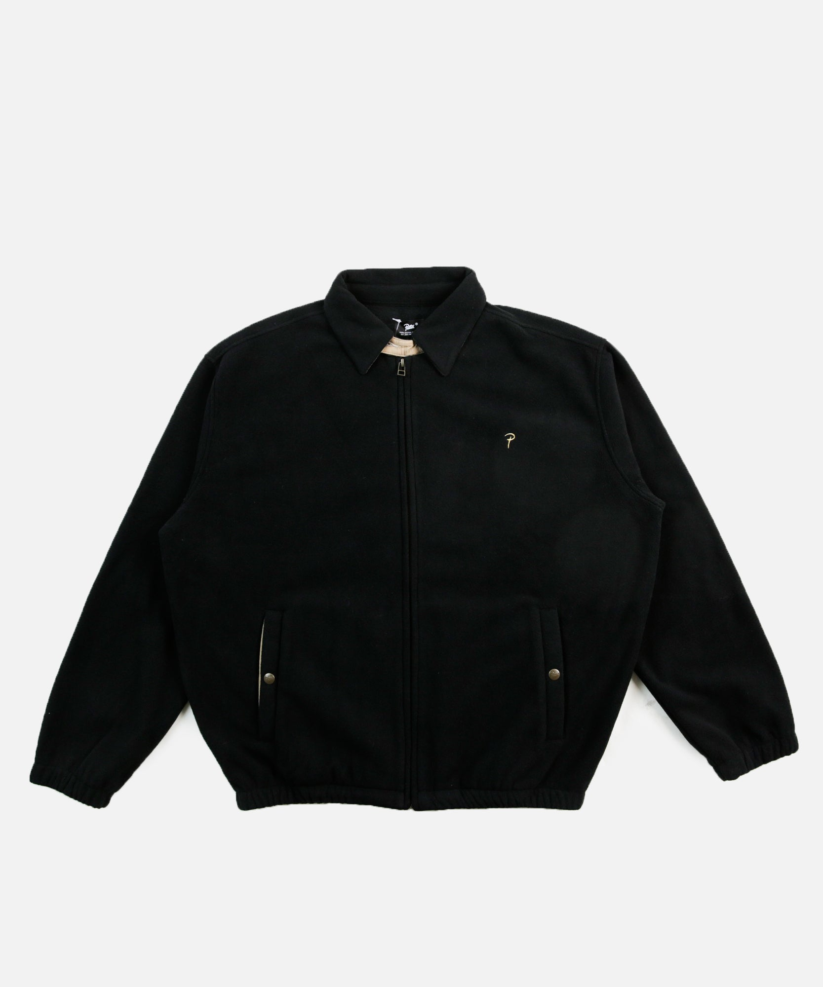 Patta Polar Fleece Jacket (Black)
