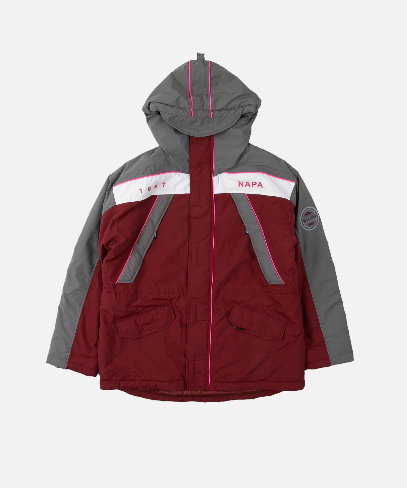 Napapijri x Martine Rose EPOCH 2 Jacket (Red Ruby)