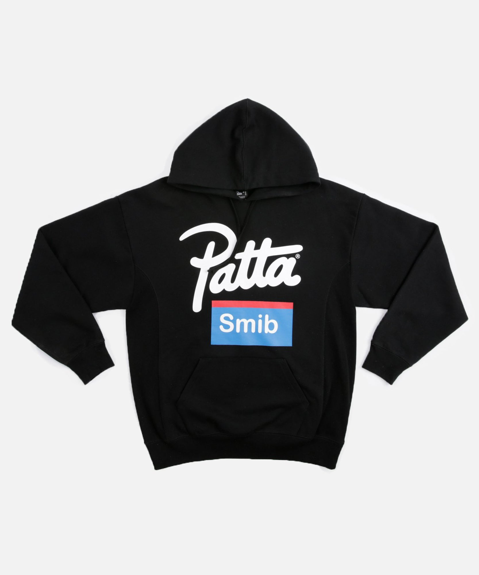 Patta Soundsystem X Smib Script Logo Hooded Sweater (Black)