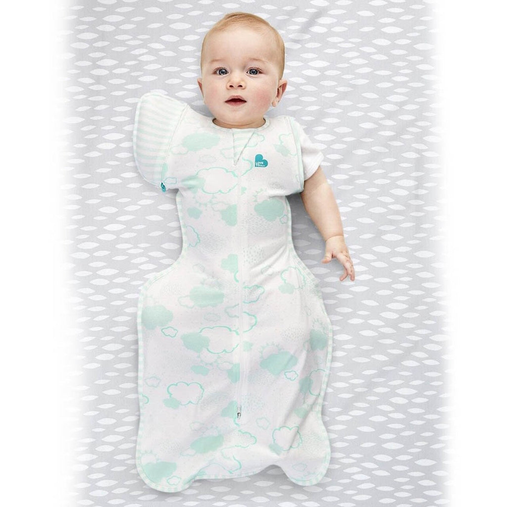 Love to Dream Swaddleup Transition Bag Organic 1.0 TOG - Mint L