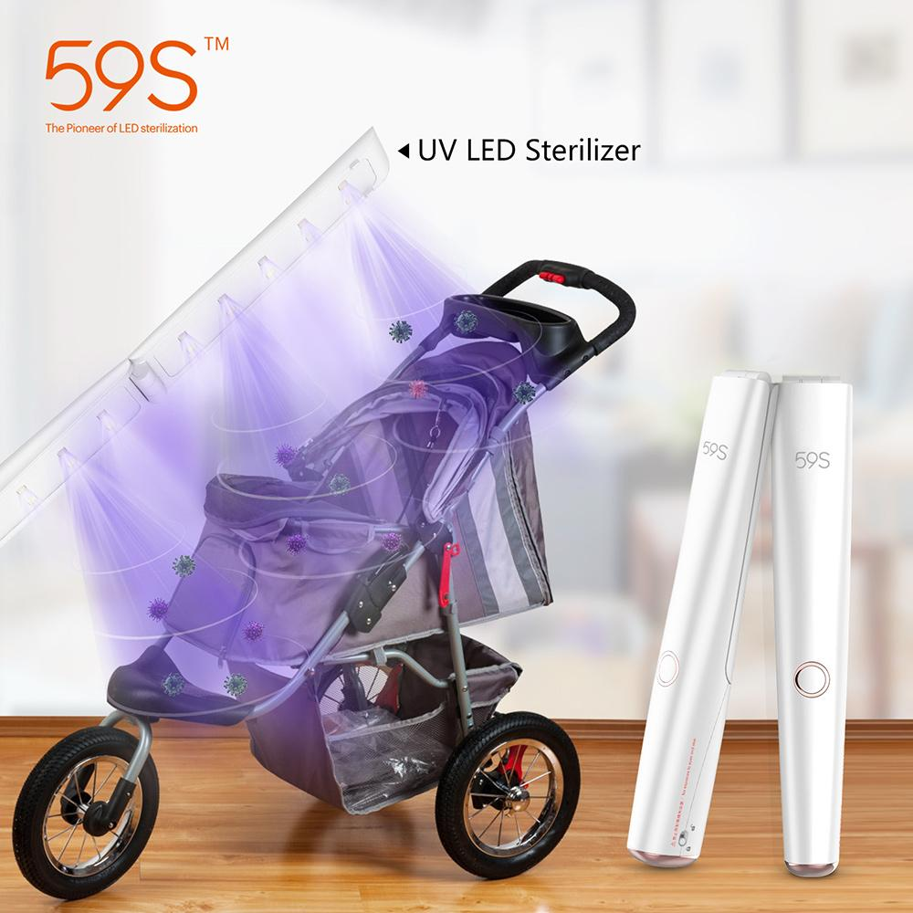 UVLED 59S X5 Portable UVC LED Sterilizer Wand