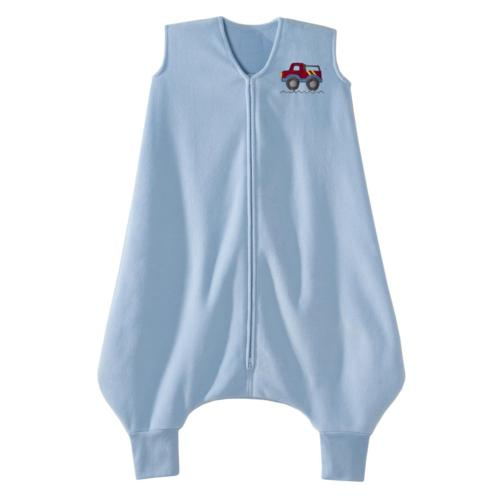 Halo SleepSack Big Kids Micro Fleece Blue Truck