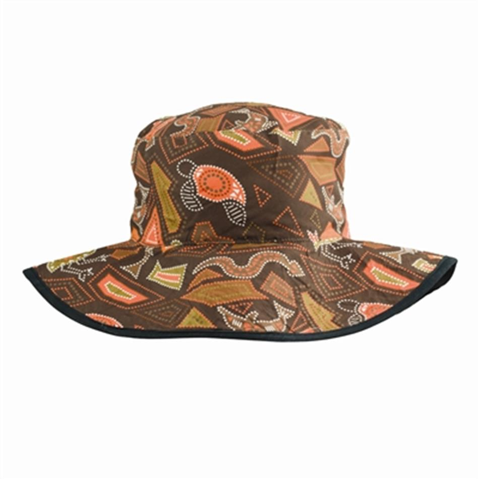 Baby Banz Reversible Bucket Hat Brown