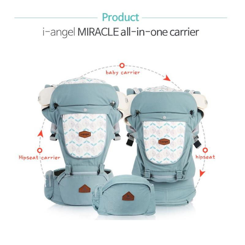 I Angel Miracle Carrier - Melange Gray