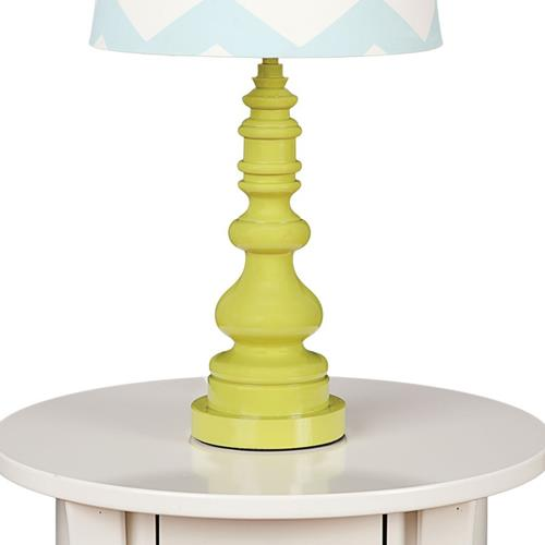 Lolli Living Lamp Base Green Spindle