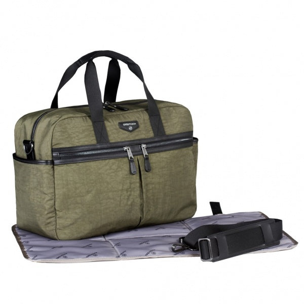 Twelve Little Unisex Satchel - Olive