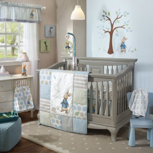 Lambs & Ivy Crib Set Peter Rabbit 4pc