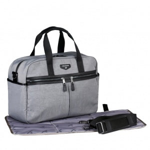 Twelve Little Unisex Satchel - Grey