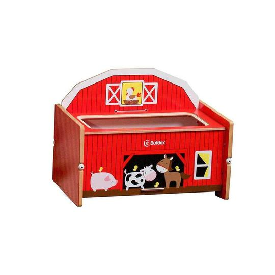 Buildex Farm in Play Storage Bench