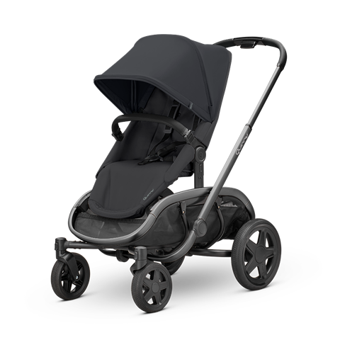 Quinny Hubb Stroller - Black on Black