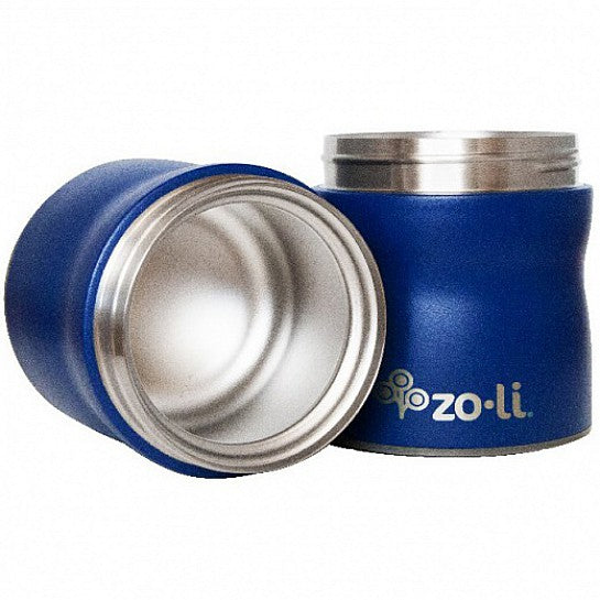Zoli This & That Double Tiered Vacuum Insulated Foor Jar Navy