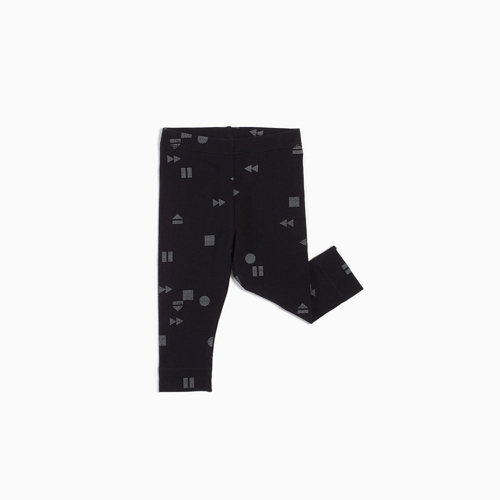 Miles Baby Baby Leggings Knit Black