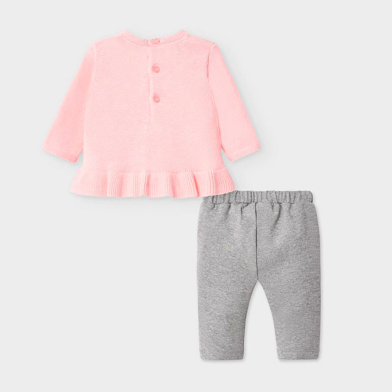 Mayoral Trousers set - Baby Pink 2563