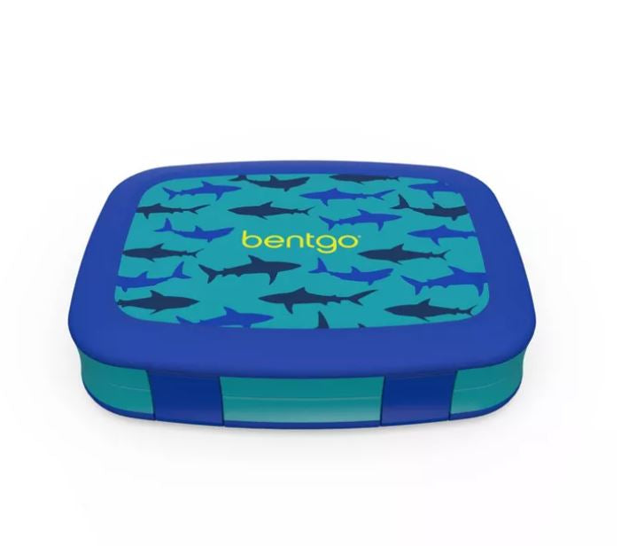 Bentgo Kids Prints Bento Lunch Box Shark