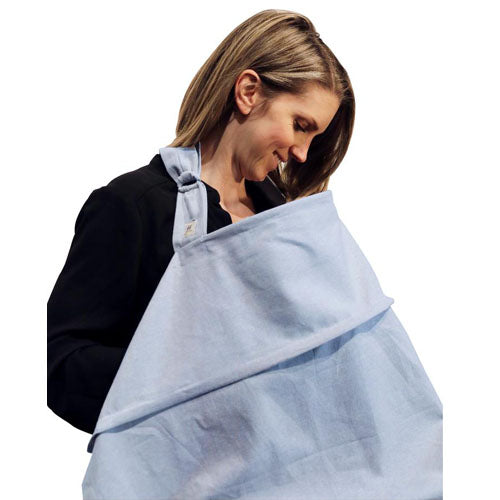 Haven Nursing Cover Chambray