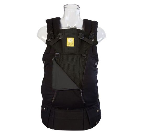 Lillebaby Carrier All Seasons Solid Black
