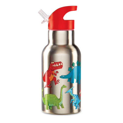Crocodile Creek Stainless Bottle - Dinosaur 10607