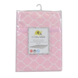 "Kidiway Waterproof Multi-use Pad - Pink Quattrofoil 30""""x30"""""