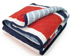 CoCalo Mix & Match Stripe Reversible Coverlet - Connor Stripe