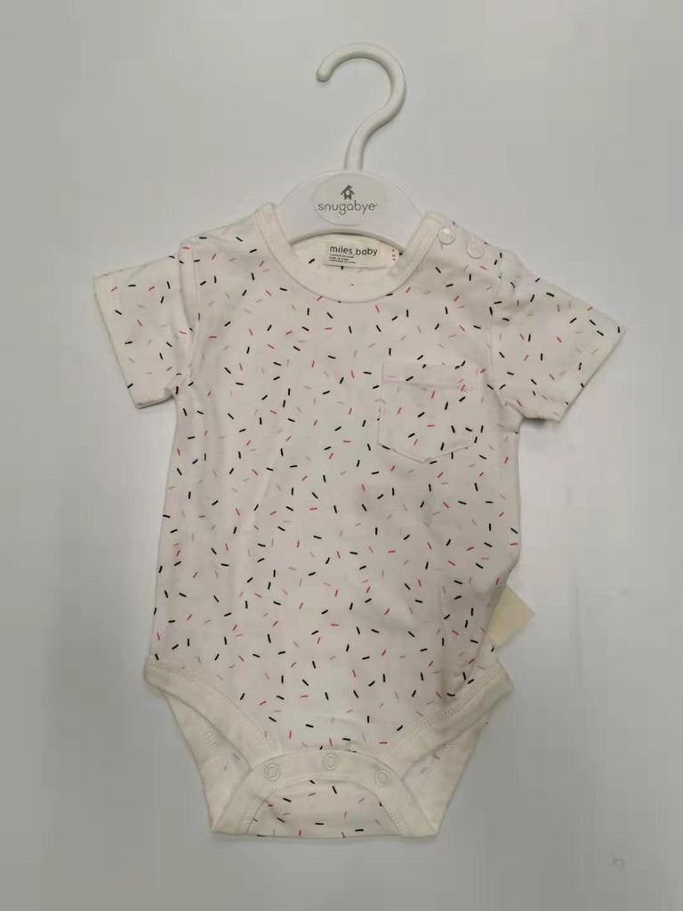 Miles Baby Girl Ice Cream Onesie B