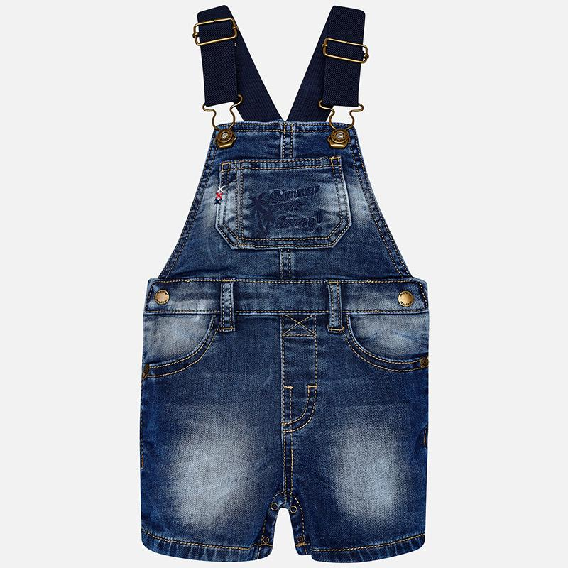 Mayoral Baby Short Denim Oscuro 1658