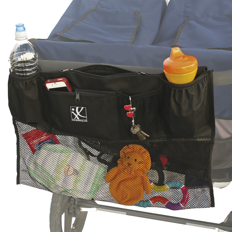 JL Double Cargo Organizer for Double Strollers