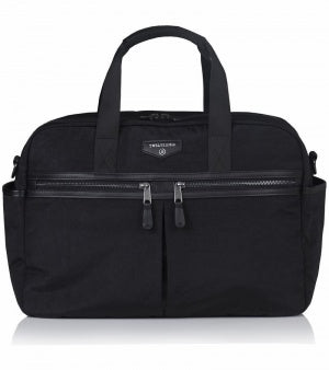 Twelve Little Unisex Satchel - Black
