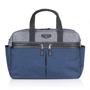 Twelve Little Unisex Satchel - Grey/Navy