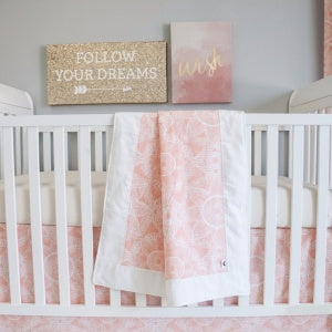 Sweet Kyla 3-piece Crib Bedding collection - Zara Sun