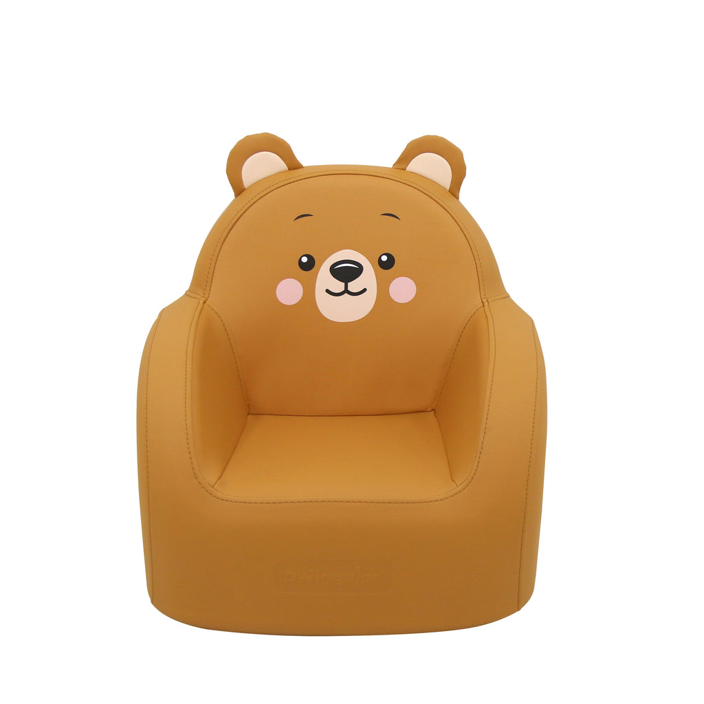 Dwinguler Bear Friends Kids Sofa - Grizzly Bear